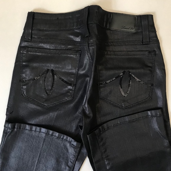 Level 99 Denim - Black Slim Bootcut Jeans